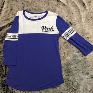 VS PINK 3/4 sleeve shirt xs